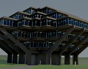 3D model Geisel Library