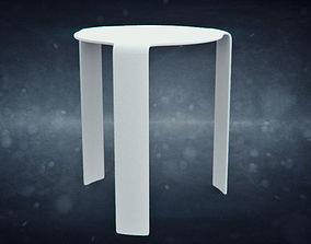 Fiam Italia Side Table 3D asset