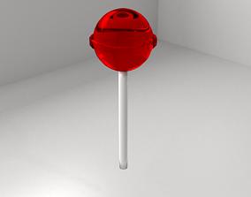 Red Lollipop 4 3D