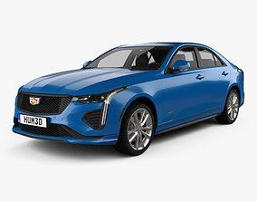 3D model Cadillac CT4 V 2020
