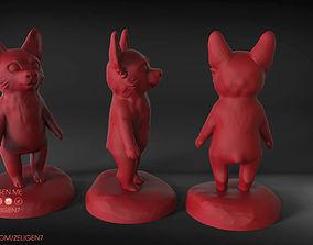 Corgi 3D print model dog