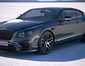 Bentley Continental Supersports 2018 3D model continental