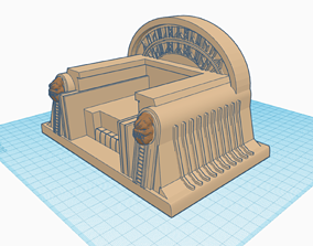 Boba Fetts Throne as seen in the Book 3D printable model 3