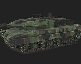 Leopard 2A5 3D model military