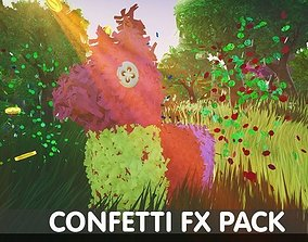 Confetti FX Pack - Unreal Engine 4 3D asset
