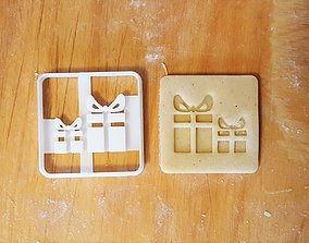 3D printable model Gifts cookie cutter