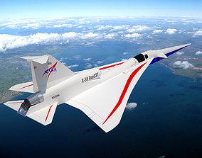 NASAs X - 59 Supersonic Aircraft x59 3D model