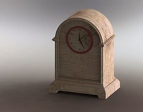 Wooden Retro Table Clock 3D printable model