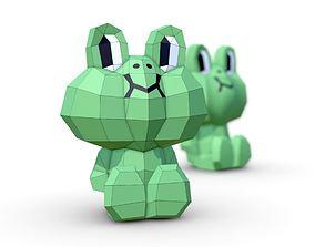 Frog Leonardo 3D model