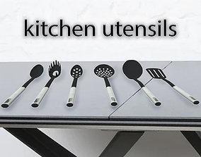 3D asset Kitchen utensils