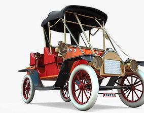 3D antique car