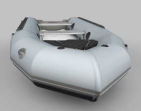 3D model Zodiac Boat Raft