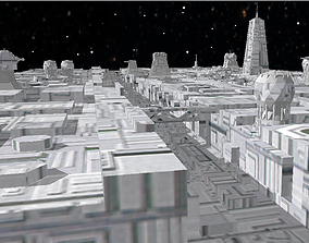 3D Death star trench - Star Wars