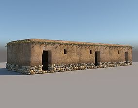 3D model Neolithic structure