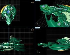 pendant Dragon 3D model