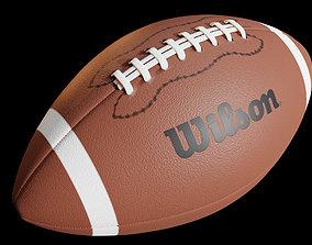 American Football 3D PBR blender
