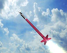 3D asset Alfa Centauro Rocket