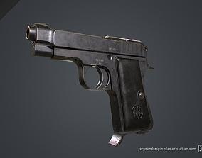 3D model Beretta Pistol 1934