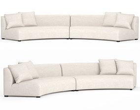 Cue Curve Sofa 3D