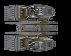 3D Big starship part