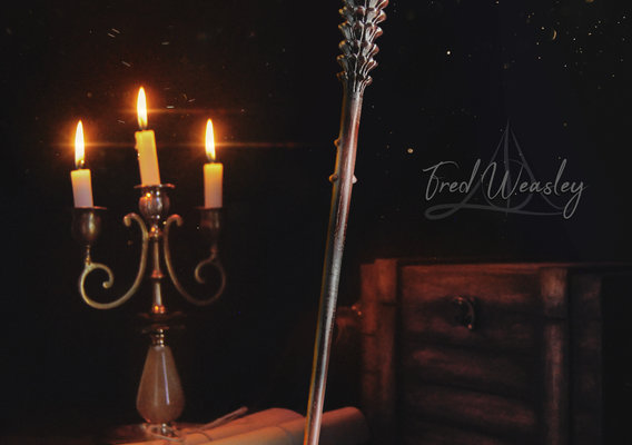 Fred Weasley Wand - Harry Potter