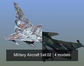 Military Aircraft Set 02 3D model