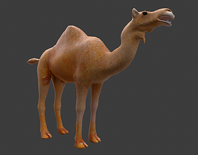 3D model animated camel 2