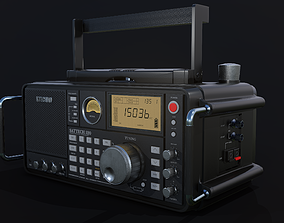 3D asset Ultimate Radio - Lowpoly