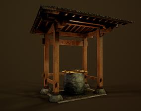 3D asset Temizuya - Japanese Shrine