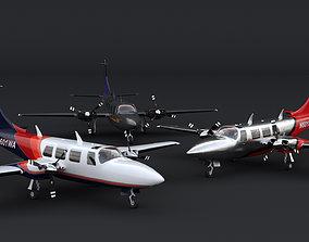 Piper Aerostar 700 3D model
