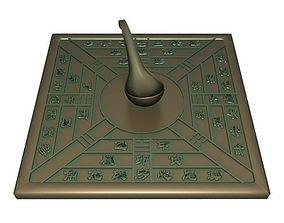 3D model Ancient compass