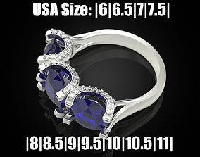Women ring 27 3D printable model