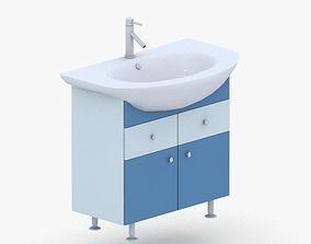 3D model 1580 - Sink