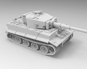 Tiger tank 3D print model