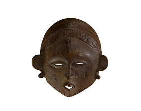 3D print model African Mask