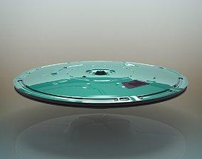 solar UFO Spacecraft 3D model