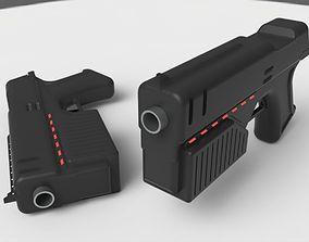 Lawgiver Judge Dredd s gun 3D