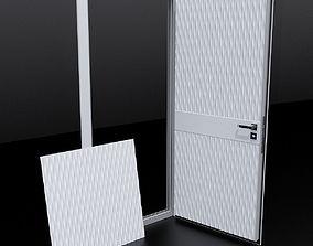 3D model Door 5 and decorative panel