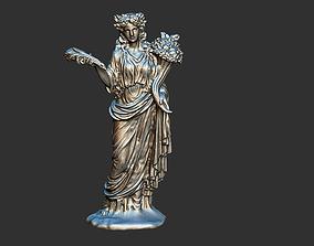 Demeter Mythology Greek Medusa Sirens Goddess Statue 3D 1