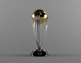 ICC Trophy Cricket 2019 3D model
