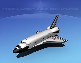 STS Shuttle Columbia Basic LP 1-1 3D