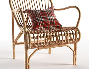3D Rattan Cole Chair
