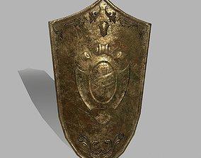 Shield 3D model game-ready