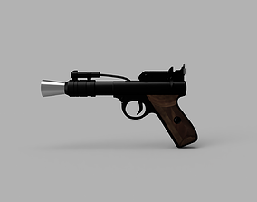 3D printable model STAR WARS - MAYFIELD WEBLEY BLASTER