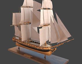 Sailing ship Katrin 3D model