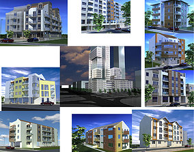 3D Buildings collection