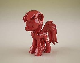 winged ponies 3D print model
