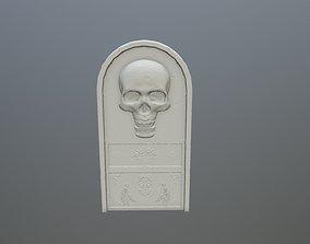 3D print model tombstone 14