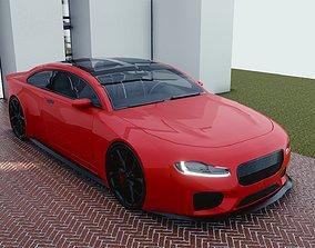 3D model BLENDER EEVEE Brandless Mid Size 2 door