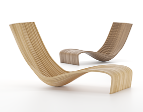 3D asset Lolo Chair by Piegatto